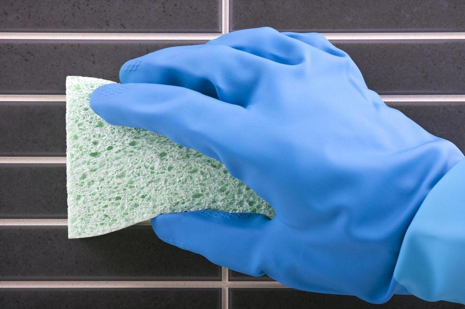 Keramikfliesen richtig reinigen