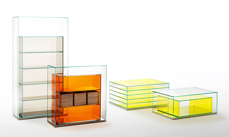 "Vitrinenkollektion ""Boxinbox"" von Glas Italia"