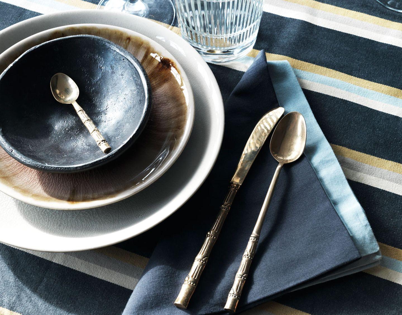 Wohntrends 2016 - Handgemachtes Porzellan, schöne Tischwäsche