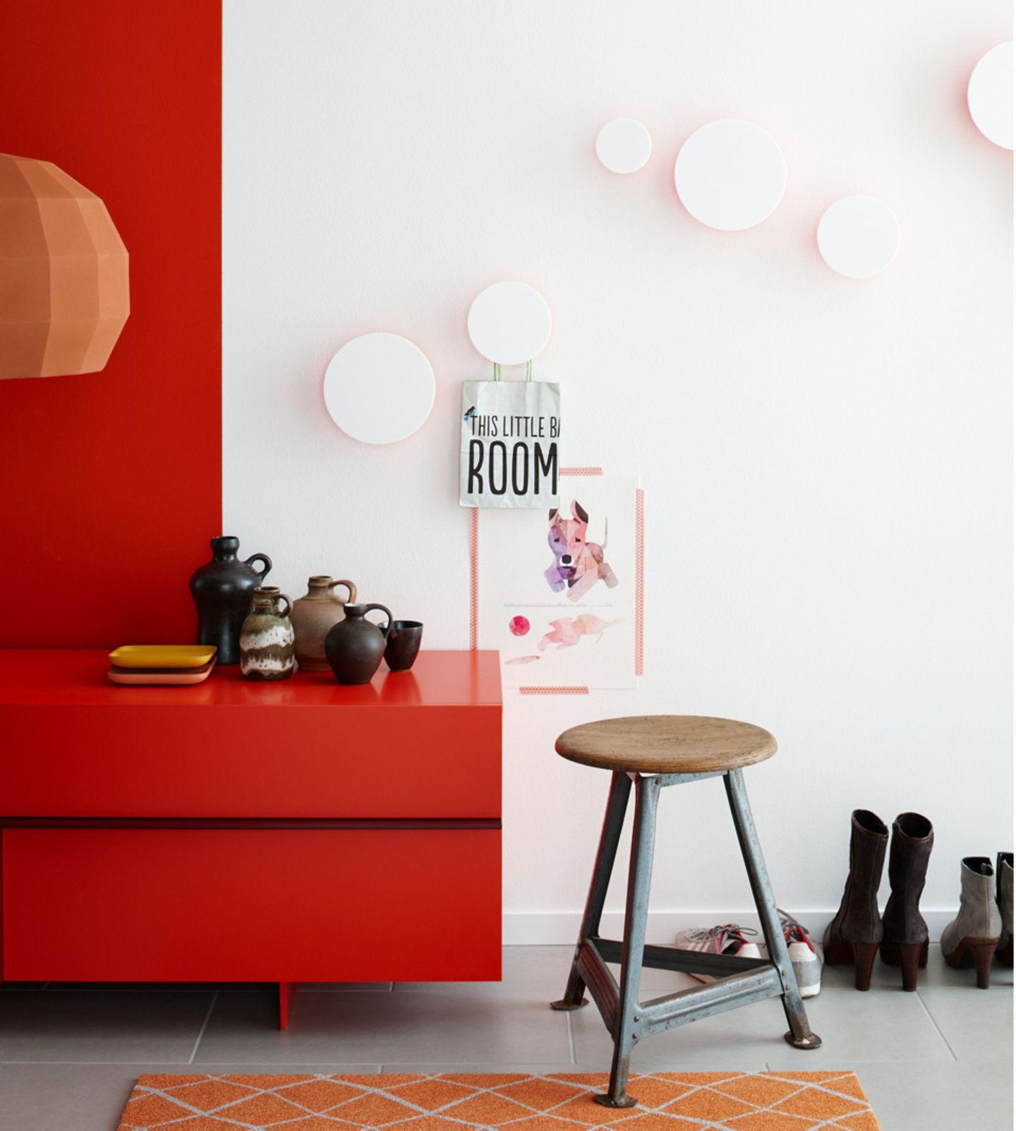 """Trendfarbe Wandfarbe """"Salsa"""" von SCHÖNER WOHNEN-Farbe"""