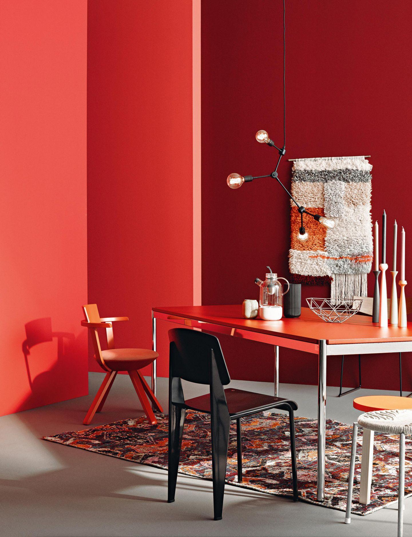Wandfarben in Rot von SCHÖNER WOHNEN-Farbe