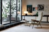 """Lese- und Ruhesessel """"Votteler Chair"""" von Designer Arno Votteler für Walter Knoll"""
