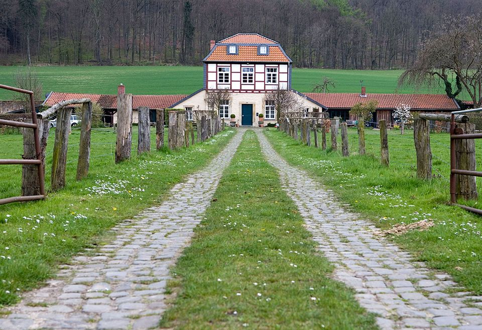 Wohnhaus auf dem Land