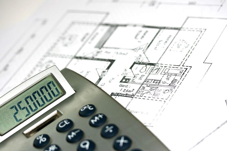 Baugeld: Gehen Sie beim Hausbau mit Bedacht vor.