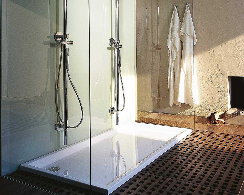 Bodengleiche Duschtasse von Philippe Starck für Duravit