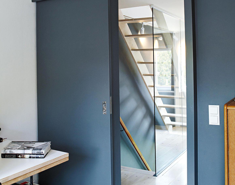 Reihenhaus: Treppenhaus im Obergeschoss