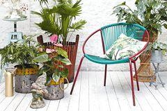 Kleine Balkonmöbel in kleinen Räumen