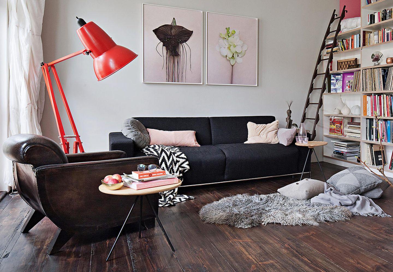 Kleine Räume mit Wohn-Mix
