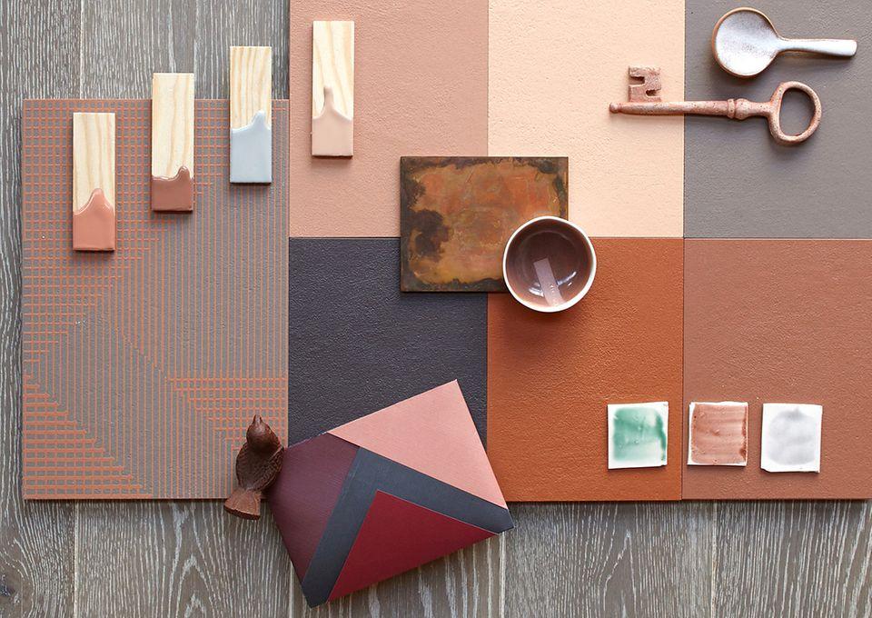 Terrakotta-Moodboard: Wie man die neuen Erdtöne kombiniert!