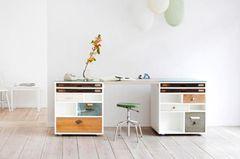 Neuer Schreibtisch aus alten Möbeln