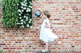 Ideal für Küche und Balkon: Wandgarten für drinnen und draußen