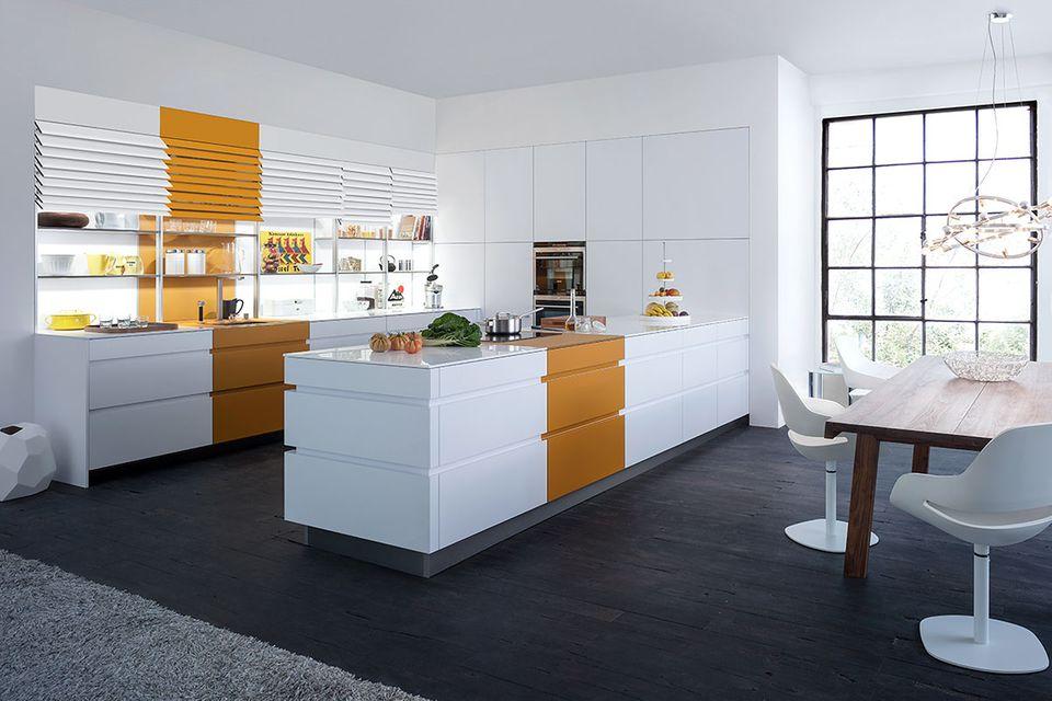 """Kochhalbinsel """"Tocco"""" von Leicht Küchen"""