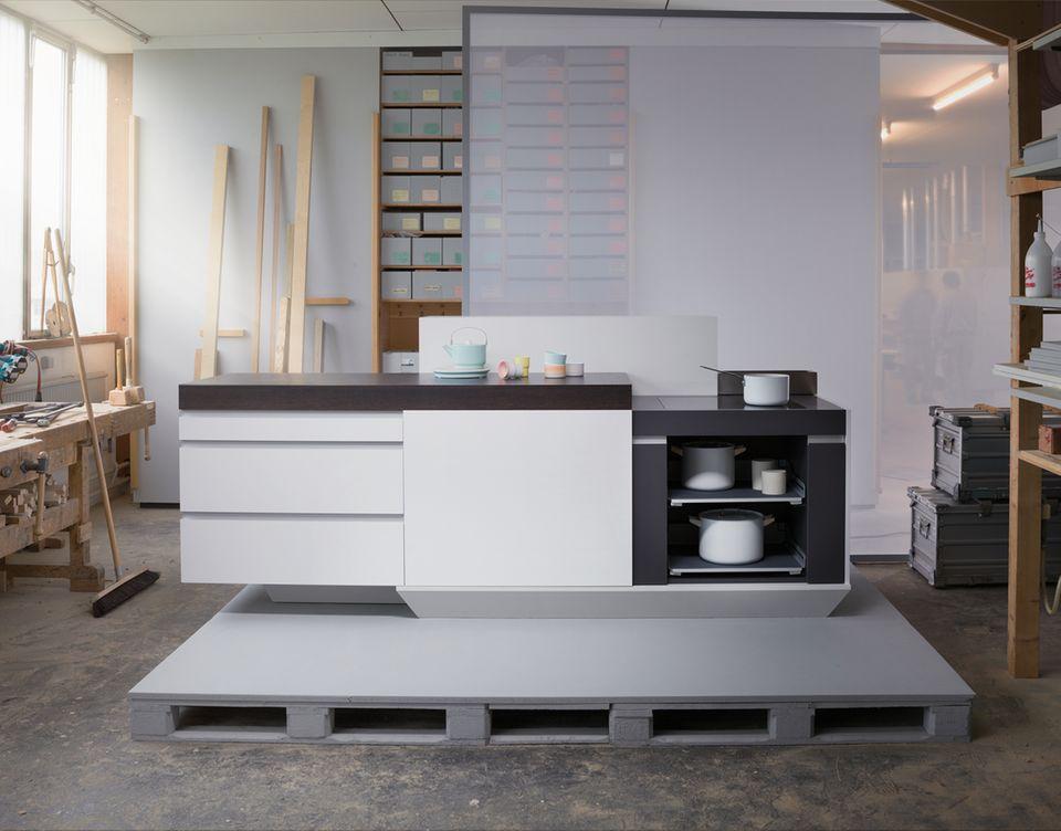 Kücheninsel von Meistermöbel, Häfele