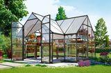 Luxus Gartengewächshaus