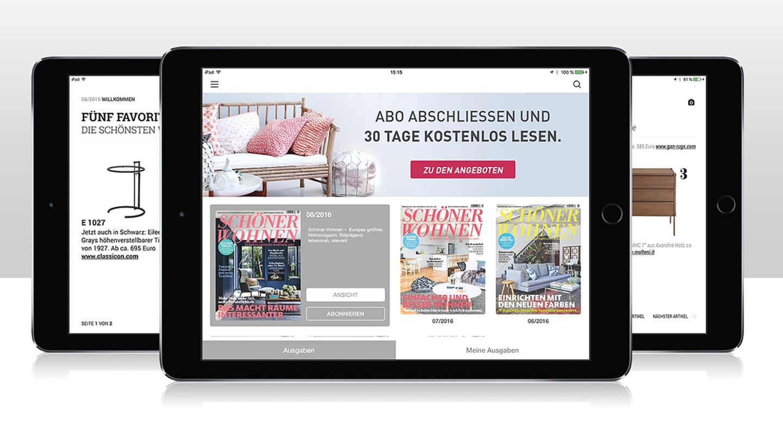 SCHÖNER WOHNEN als digitale Ausgabe.
