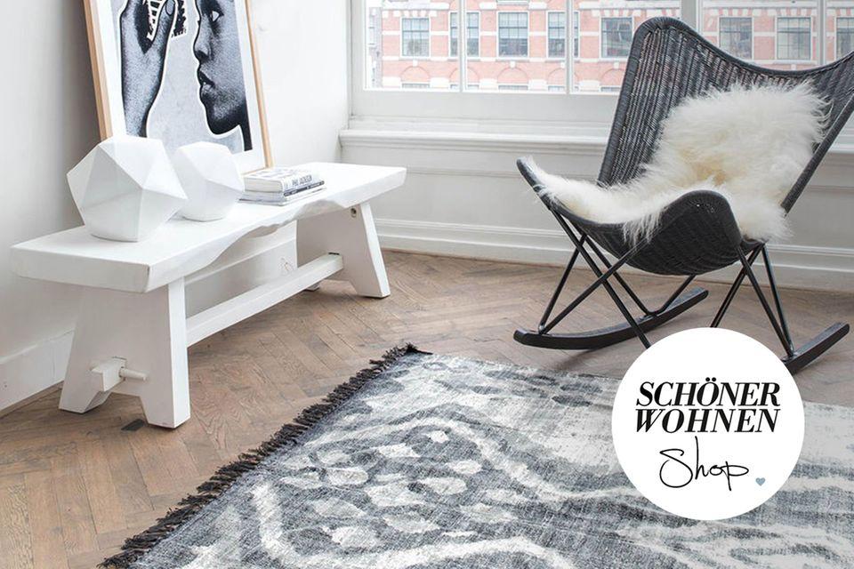 SCHÖNER WOHNEN-Shop Teaser Teppiche