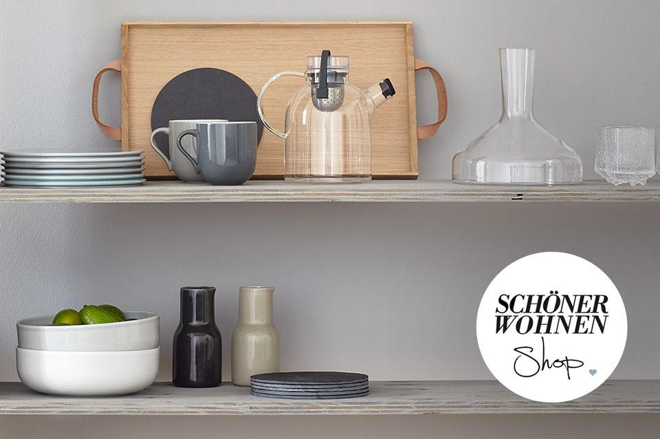 Für Landhausküchen bis Design-Kochstudios: Küchen-Accessoires im SCHÖNER WOHNEN-Shop