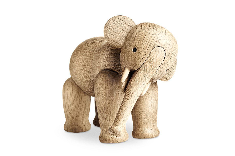 Deko-Elefant aus Eichenholz von Kay Bojesen bei Rosendahl