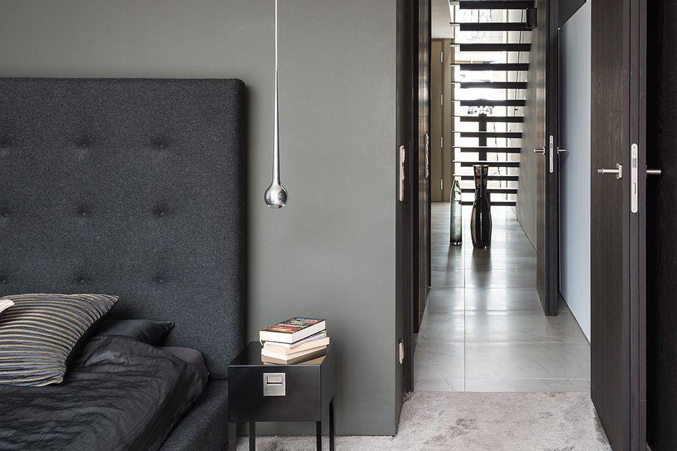Haus des Jahres 2016: Modernes Einfamilienhaus - Schlafzimmer