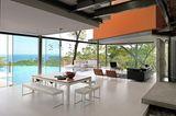 Costa Rica: Hangvilla auf Stahlstelzen - Wohnraum