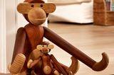 """Geschenke für Designfans: Holzfigur """"Affe"""" von Kay Bojesen"""