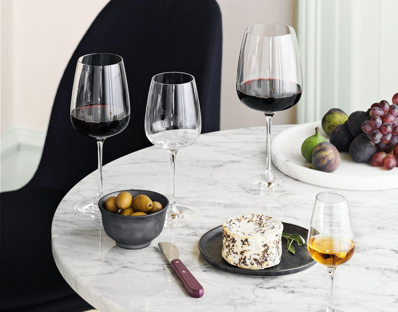 "Rotweinglas ""Bouquet"", Holmegaard"