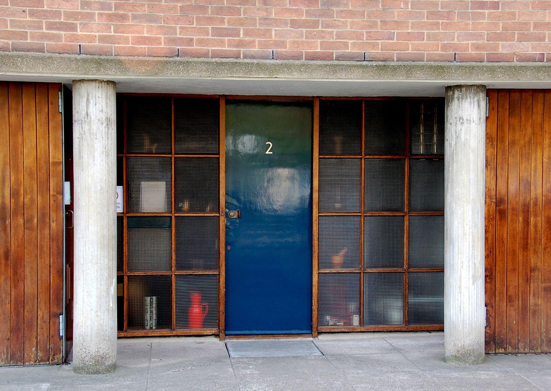 Haustüren Goldfinger 2 Willow Road Hampstead