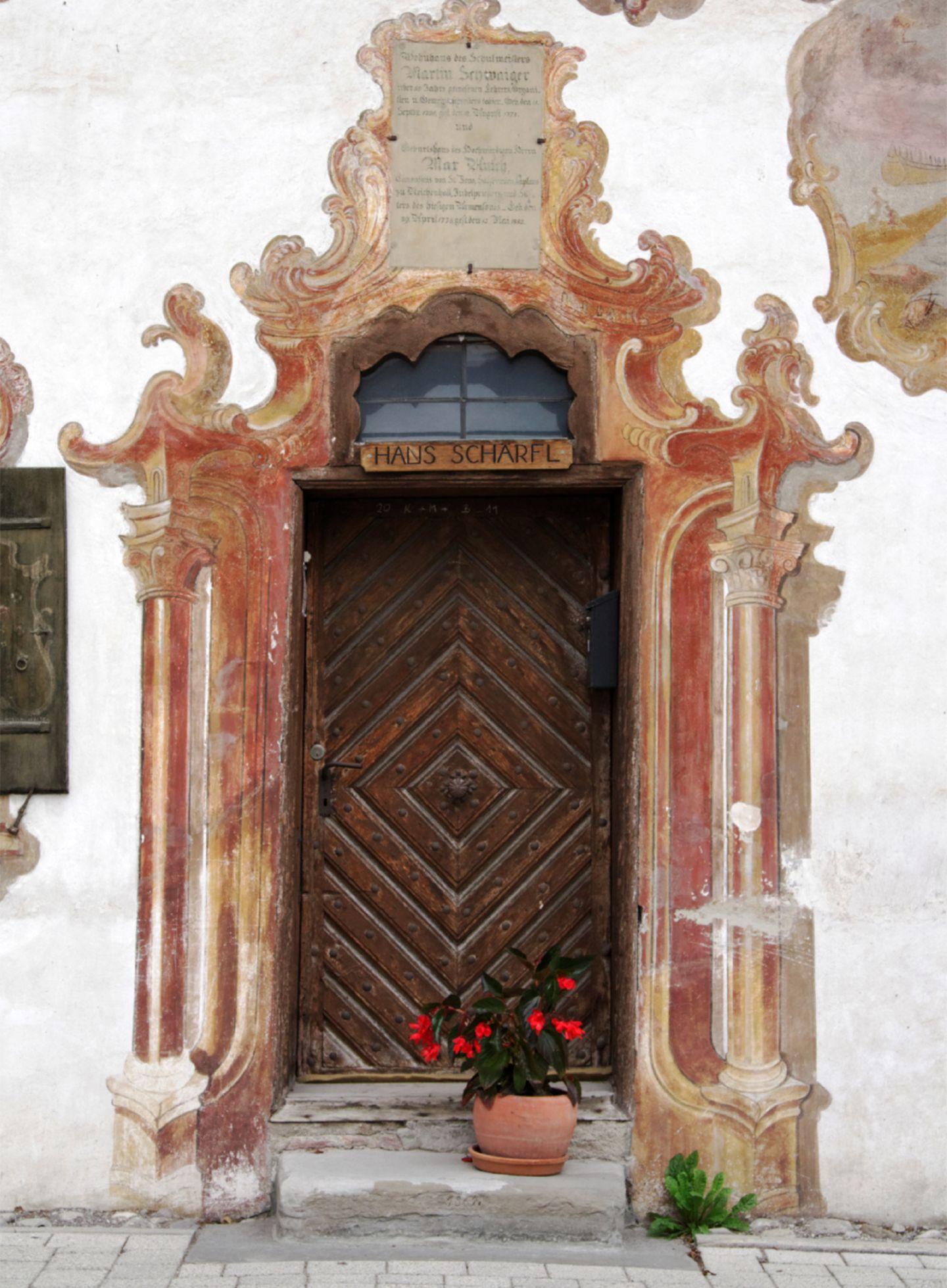 Haustür Oberammergau