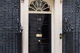 Haustür 10 Downing Street