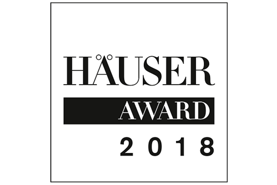HÄUSER-AWARD 2018: Logo