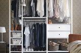Aufräumen Kleiderschrank Ikea