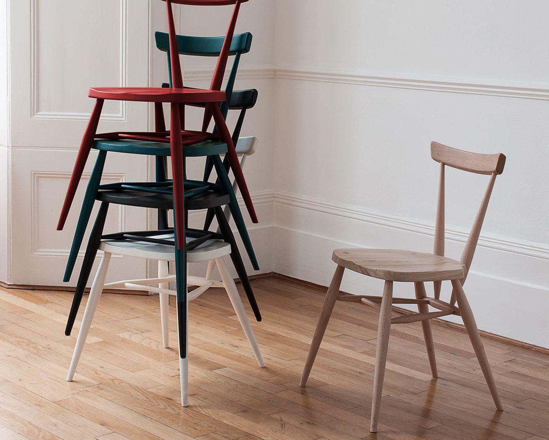 "Stuhl 2original Stacking Chair"", Ercol"