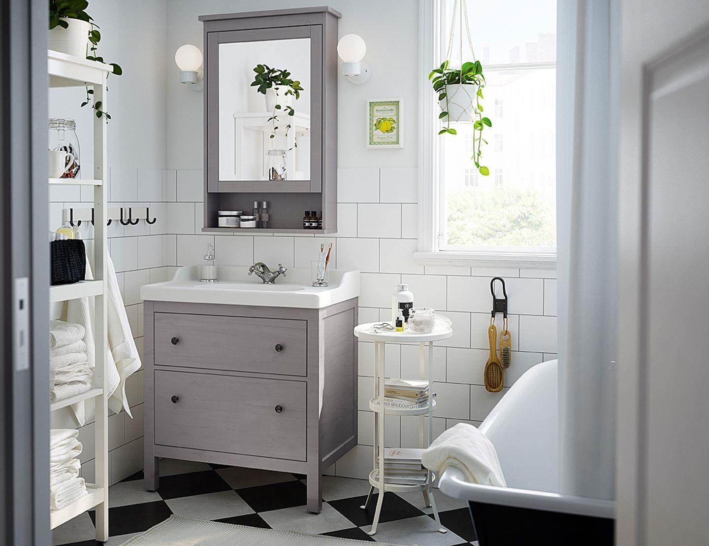 Badezimmer-Serie Hemnes von Ikea