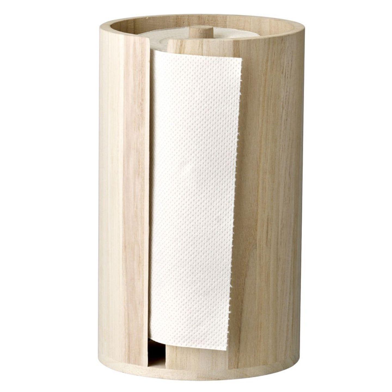 Küchenrollenhalter aus Holz von Bloomingville
