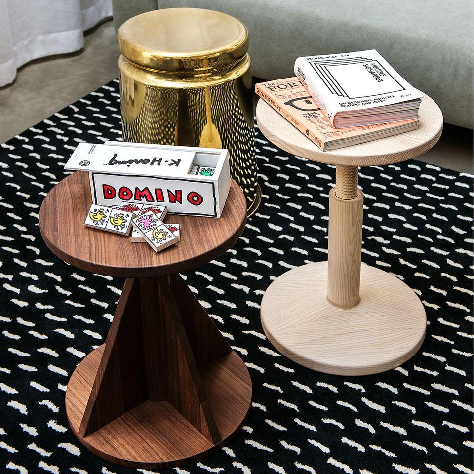 """Hocker """"All Wood Stool"""" von Karoline Fesser für HEM"""