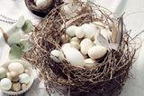 Osterkorb mit Eiern