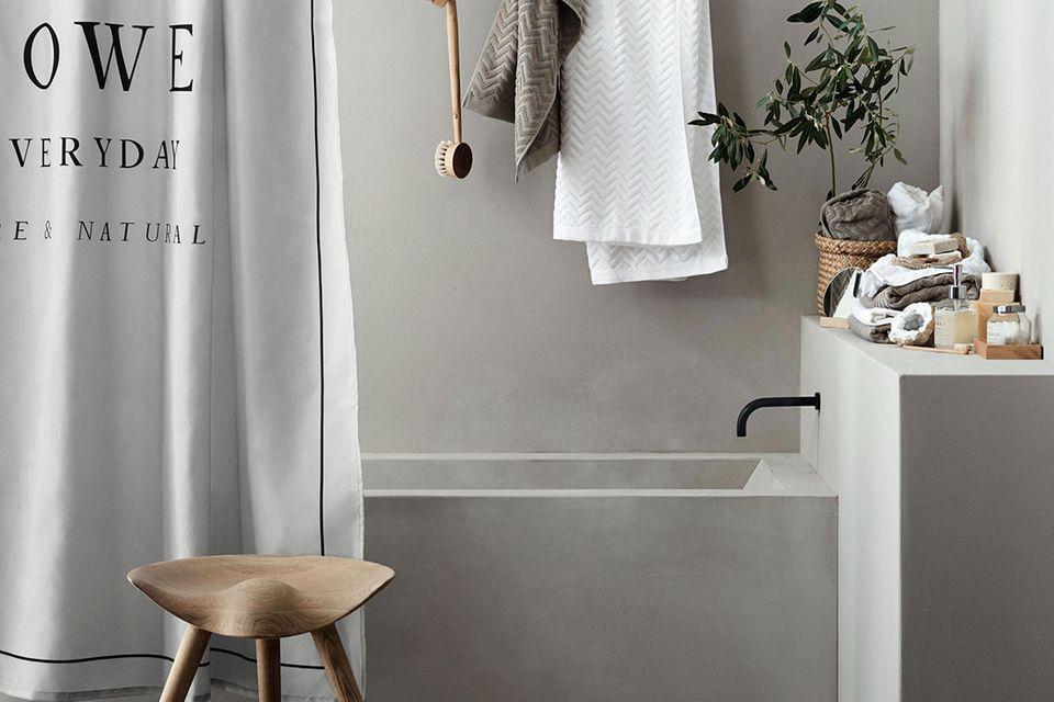 Bedruckter Duschvorhang, H&M Home