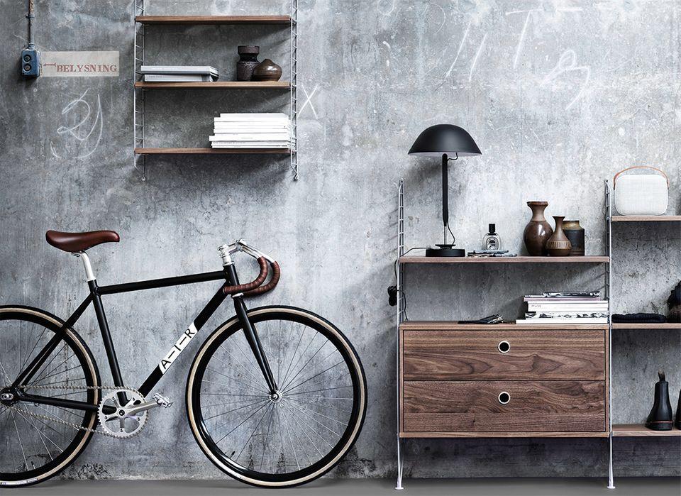 Männer Einrichten Fahrrad
