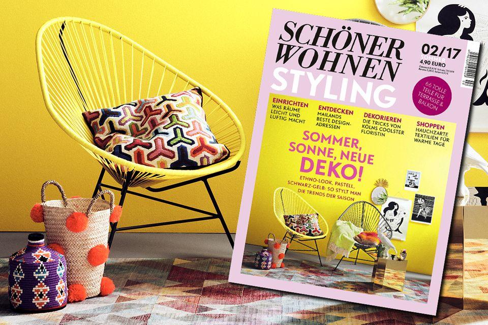 SCHÖNER WOHNEN-STYLING: Collage