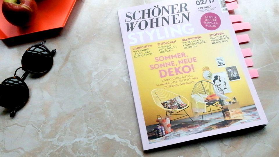 SCHÖNER WOHNEN STYLING: Cover #02/2017