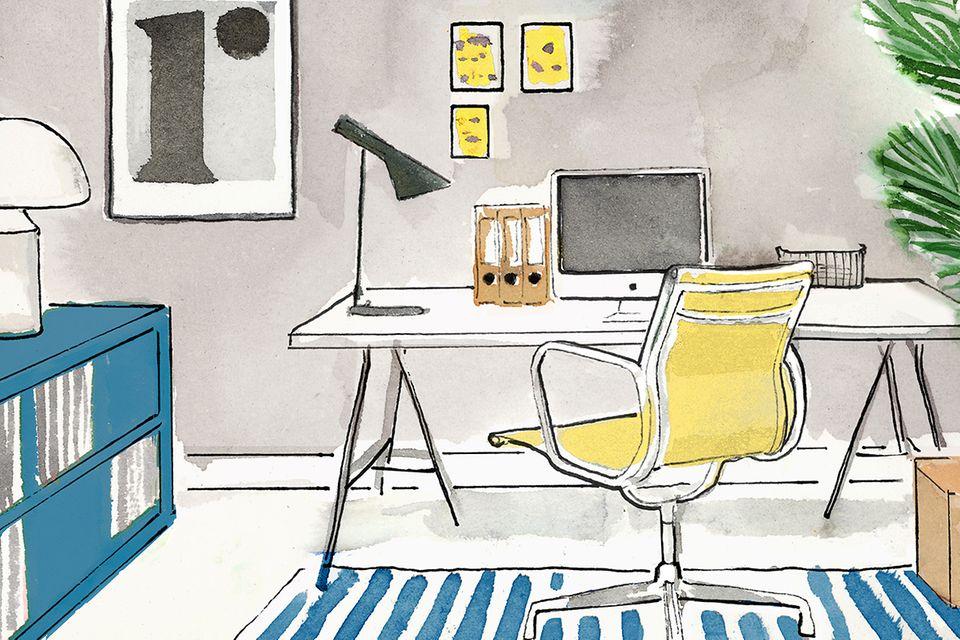 Illustration Home-Office