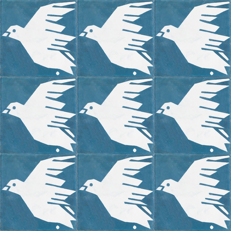 """Fliese """"Fly Little Birdie"""" von House of Rym"""