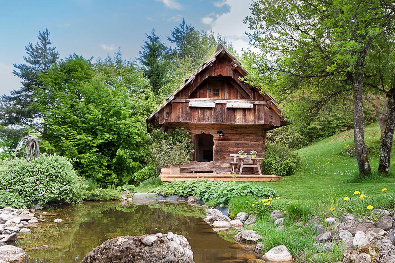 Romantische Hütte, Kärnten, Österreich - Bild 6