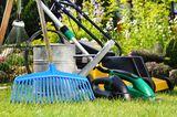 Gartengeräte und was sie können - Rasenmäher, Eimer und Co