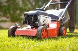 Gartengeräte und was sie können - der Rasenmäher