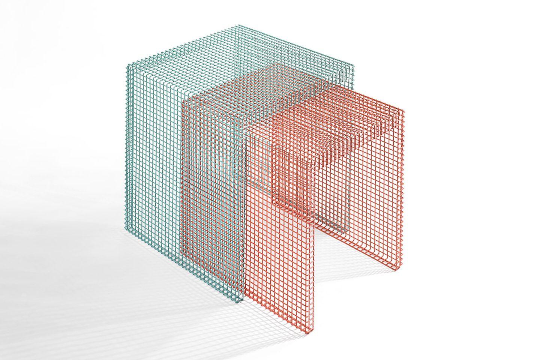 """Beistelltischen """"Grid"""" von Home3"""