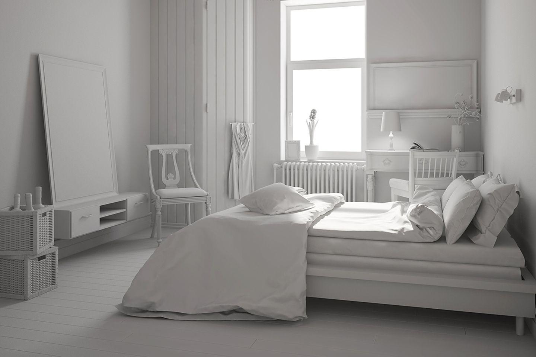 Wohntipps fürs Schlafzimmer: Ton in Ton einrichten