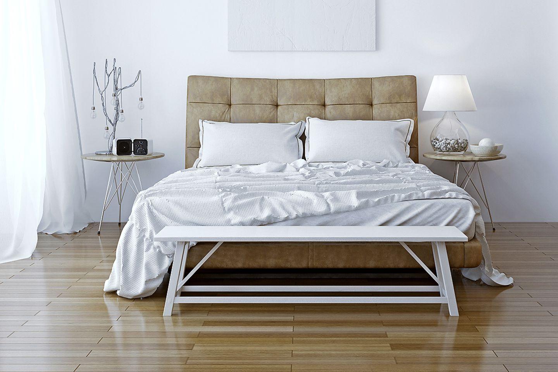 Wohntipps fürs Schlafzimmer: Bank im Schlafzimmer