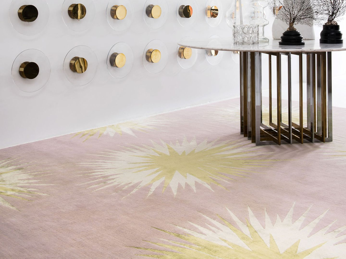 """Teppich """"thistle Gold"""", The Rug Company"""