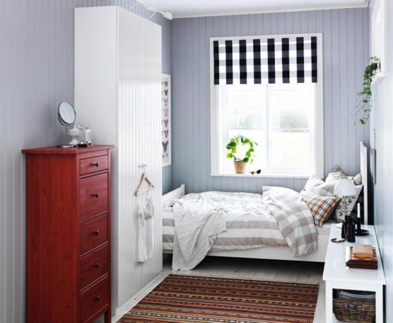 Wohnen mit Farben - Hellviolett im Schlafzimmer